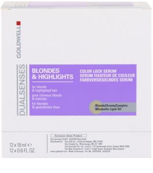 Goldwell Dualsenses Blondes & Highlights serum do włosów po balejażu