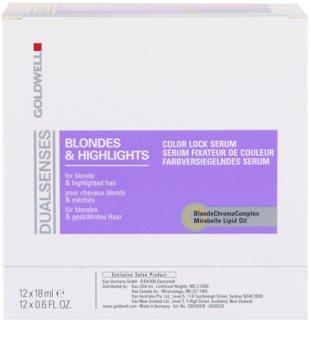 Goldwell Dualsenses Blondes & Highlights szérum melíres hajra
