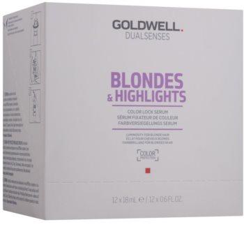 Goldwell Dualsenses Blondes & Highlights sérum para cabello rubio y con mechas