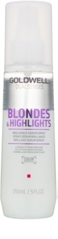 Goldwell Dualsenses Blondes & Highlights sérum em spray sem enxaguar para cabelo loiro e com madeixas