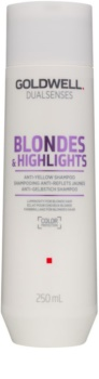 Goldwell Dualsenses Blondes & Highlights șampon pentru păr blond neutralizeaza tonurile de galben