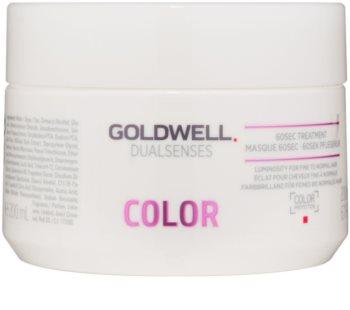 Goldwell Dualsenses Color regeneráló maszk normáltól festett hajig
