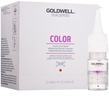 Goldwell Dualsenses Color serum za lase za tanke, barvane lase