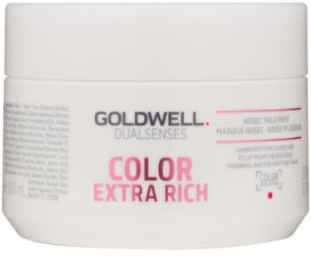 Goldwell Dualsenses Color Extra Rich regenerační maska pro hrubé, barvené vlasy