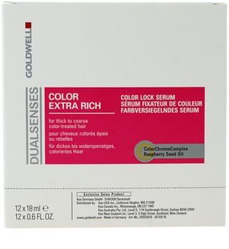Goldwell Dualsenses Color Extra Rich bezoplachové sérum pro hrubé, barvené vlasy
