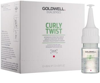Goldwell Dualsenses Curly Twist intensives feuchtigkeitsspendendes Serum für Dauerwelle und welliges Haar