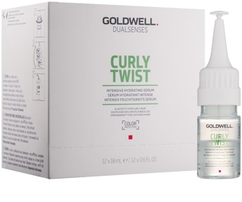 Goldwell Dualsenses Curly Twist intenzív hidratáló szérum hullámos és dauerolt hajra