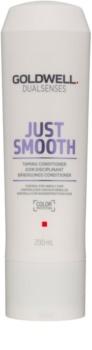 Goldwell Dualsenses Just Smooth condicionador alisante para cabelo rebelde