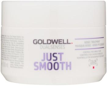 Goldwell Dualsenses Just Smooth maseczka wygładzająca do włosów trudno poddających się stylizacji