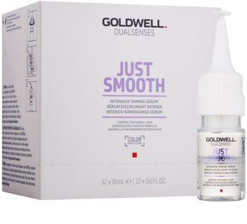 Goldwell Dualsenses Just Smooth sérum suavizante para cabelos crespos e inflexíveis
