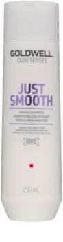 Goldwell Dualsenses Just Smooth uhladzujúci šampón pre nepoddajné vlasy