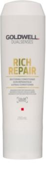 Goldwell Dualsenses Rich Repair obnovujúci kondicionér pre suché a poškodené vlasy