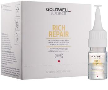 Goldwell Dualsenses Rich Repair intenzivní obnovující sérum pro suché a poškozené vlasy