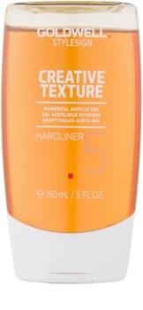 Goldwell StyleSign Creative Texture gel acrílico com fixação extra forte