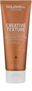 Goldwell StyleSign Creative Texture Superego 4 crema para dar definición al peinado para cabello