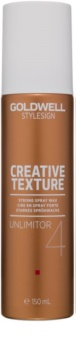 Goldwell StyleSign Creative Texture Unlimitor 4 cera per capelli in spray