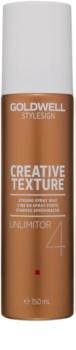 Goldwell StyleSign Creative Texture Unlimitor 4 modelujący wosk  do włosów w sprayu