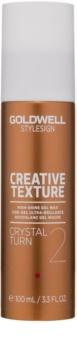 Goldwell StyleSign Creative Texture Showcaser 3 Gel Wax with High Gloss Effect