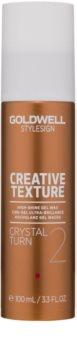 Goldwell StyleSign Texture Crystal Turn 2 gel vosak s visokim sjajem