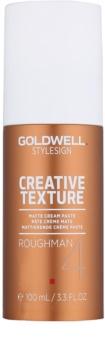 Goldwell StyleSign Creative Texture Roughman 4 matující stylingová pasta na vlasy