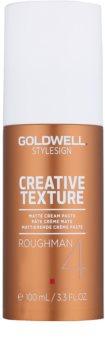Goldwell StyleSign Creative Texture Roughman 4 zmatňujúca stylingová pasta na vlasy
