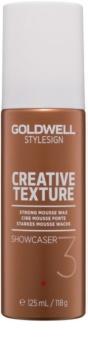 Goldwell StyleSign Creative Texture Showcaser 3 Schaumwachs für das Haar
