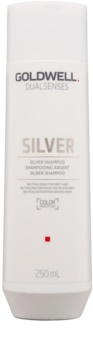 Goldwell Dualsenses Silver Silver Shampoo Neutralizing for Grey Hair