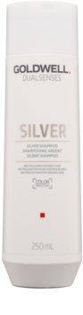 Goldwell Dualsenses Silver нейтралізуючий срібний шампунь для освітленого та сивого волосся