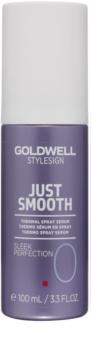 Goldwell StyleSign Just Smooth serum termalne w spreyu do ochrony włosów przed wysoką temperaturą