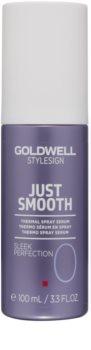 Goldwell StyleSign Just Smooth termalni serum v pršilu  za toplotno oblikovanje las
