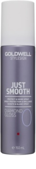 Goldwell StyleSign Just Smooth ochranný sprej pro lesk a hebkost vlasů