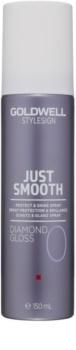 Goldwell StyleSign Just Smooth охоронний спрей для блиску та шовковистості волосся