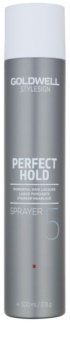 Goldwell StyleSign Perfect Hold екстра силен лак За коса