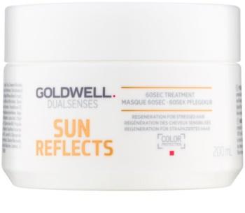 Goldwell Dualsenses Sun Reflects mascarilla regeneradora para cabello contra los efectos del sol, el cloro y la sal