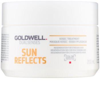 Goldwell Dualsenses Sun Reflects маска для регенерації  для волосся пошкодженого хлором, сонцем та солоною водою