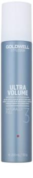 Goldwell StyleSign Ultra Volume spray volumateur brushing et finition