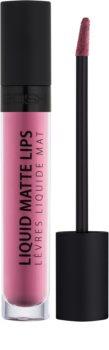 Gosh Liquid Matte Lips tekutá rtěnka