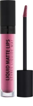 Gosh Liquid Matte Lips tekutý rúž