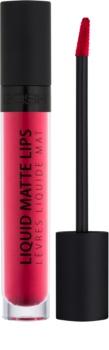 Gosh Liquid Matte Lips rouge à lèvres liquide