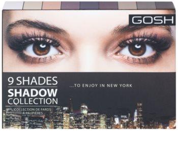 Gosh Shadow Collection палітра тіней з дзеркальцем