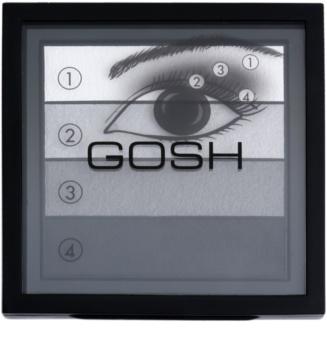 Gosh Smokey paleta očních stínů