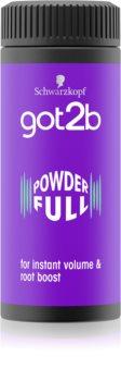 got2b PowderFul polvere volumizzante per un volume perfetto