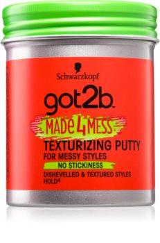 got2b Made 4 Mess glina za oblikovanje za kosu