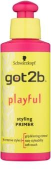 got2b Playful Emulsie  voor Krachtig en Onhandelbaar Haar