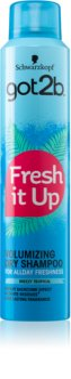 got2b Fresh it Up champô seco para dar volume