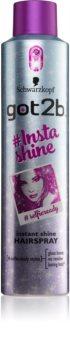 got2b Insta-Shine Haarspray für höheren Glanz
