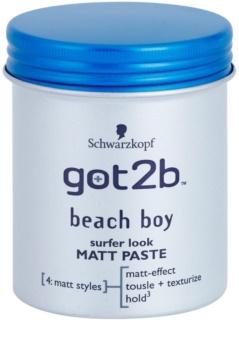 got2b Beach Boy Matte Paste for Definition and Shape