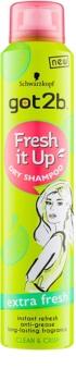 got2b Fresh it Up suchý šampon pro absorpci přebytečného mazu a pro osvěžení vlasů