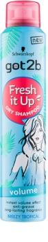 got2b Fresh it Up suchý šampón pre objem