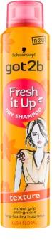 got2b Fresh it Up șampon uscat pentru structurarea părului